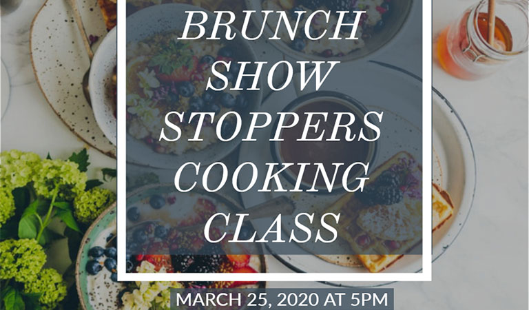 Brunch Show Stoppers